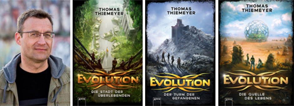 Lesung mit Thomas Thiemeyer in der Bibliothek