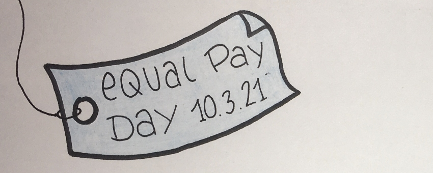 Equal Pay Day am 10.03.2021